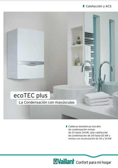 folleto caldera vaillant ecotec plus vmw 236/5-5