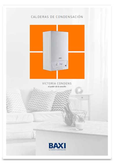 folleto caldera baxi victora condens 24/24 f