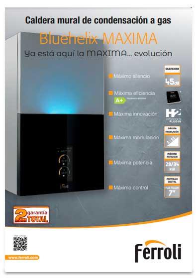 folleto caldera ferroli bluehelix maxima 34 c
