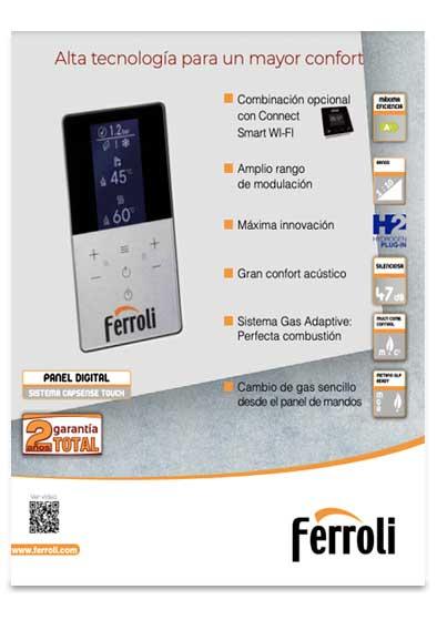 catalogo caldera ferroli bluehelix hitech rrt 28 c