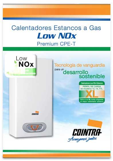 catalogo calentador cointra premium cpe 12 t