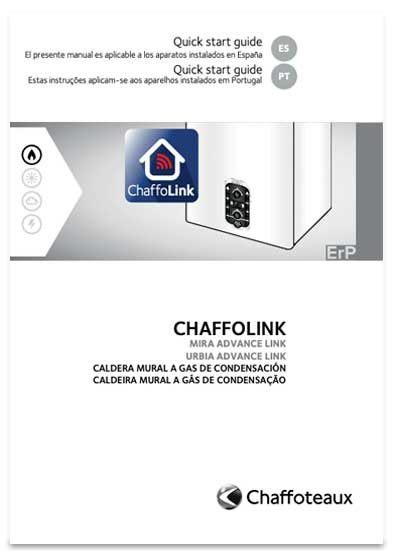 guia chaffoteaux quick start guide chaffolink