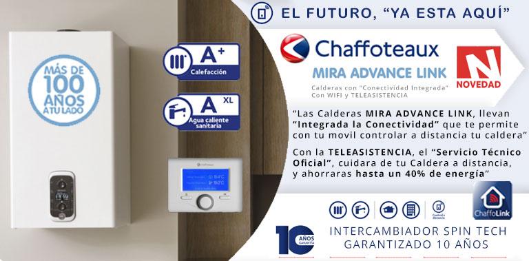 novedad chaffoteaux mira advance link conectividad blog
