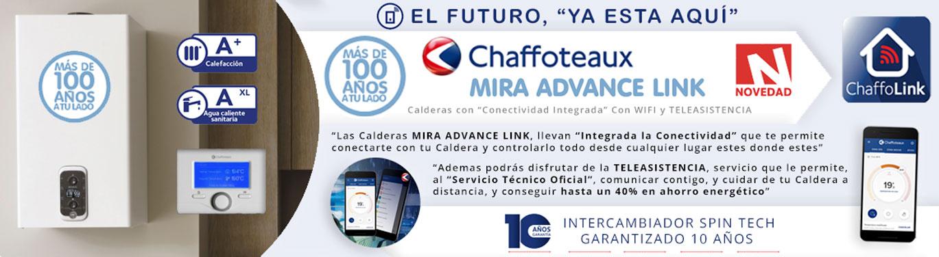 novedad chaffoteaux mira advance link conectividad