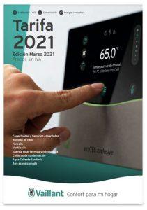 tarifa vaillant edicion marzo 2021