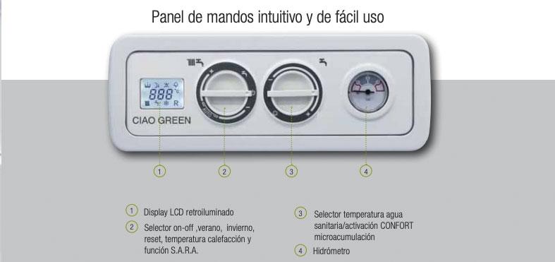 beretta ciao green csi panel de mandos