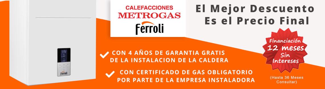 financiacion metrogas calderas ferroli